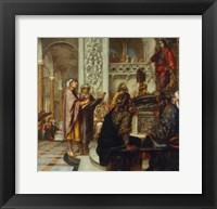 Framed Christ Among the Doctors