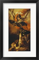 Framed Saint Michael