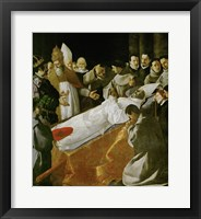 Framed Death of Saint Bonaventura, 1627