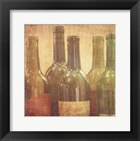 Framed Wine Vignette I