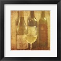 Framed Wine Vignette III