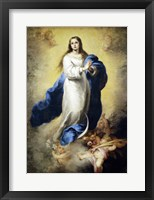 Framed Immaculate Conception of El Escorial, 1656-1660