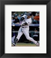Framed Carlos Gonzalez 2015 Action