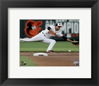 Framed J.J. Hardy 2015 Action