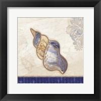 Ocean Auger Framed Print