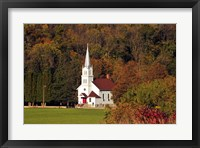 Framed Church In the Valley