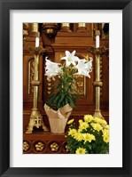 Framed Easter Altar
