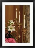 Easter Candles Framed Print