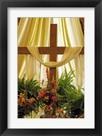 Framed Easter Cross