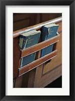 Framed Hymnals