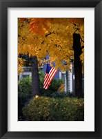 Framed Fall Flag