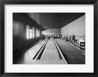 Framed Bowling alleys, Paul Smith's Casino