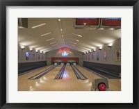 Framed Bowling Center at Mount Vernon
