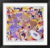 Framed Abstract Jazz