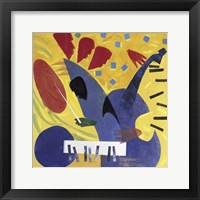 Framed Perpetual Jazz