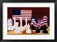 Framed America Under Wraps