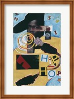 Framed Untitled (Hip Hop Abstract)