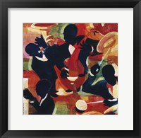 Framed Untitled (Jazz Band)
