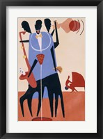 Framed Untitled (Jazz Players)