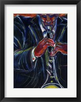 Framed Clarinet