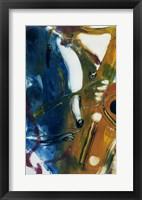 Framed Saxophone