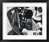 Framed Blue Note