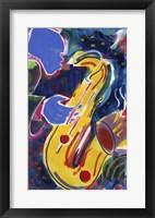 Framed Hot Sax
