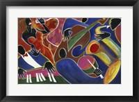 Framed Jazz Singer