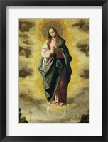 Framed Immaculate Conception, 1630-1635