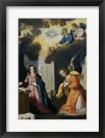 Framed Annunciation, 1638-1639