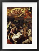 Framed Adoration of the Shepherds, 1638