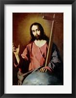Framed Savior Blessing. 1638
