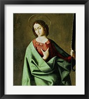 Framed Saint Euphemia