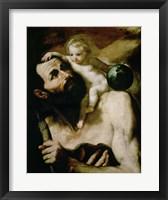 Framed Saint Christopher,1637