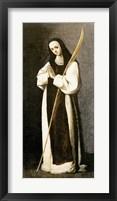 Framed Portrait of a Nun of the Jeronimite Order