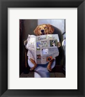 Framed Dog Gone Funny