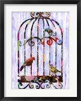 Framed Bird Cage