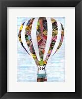 Framed Hot Air Balloon