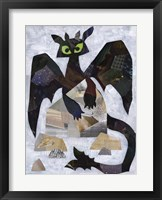 Framed Toothless