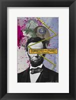 Framed Lincoln