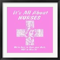 Nurses Framed Print