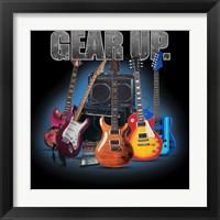 Framed Gear Up Guitars