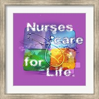 Framed Nurses Care