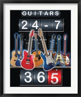 Framed Guitars 24-7, 365