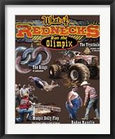 Redneck Olimpix Framed Print
