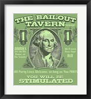 Framed Bailout Tavern