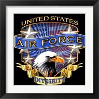 Framed Air Force