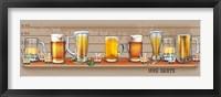 Mug Shots Framed Print