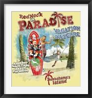 Framed Redneck VaCatsion Daycare