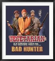 Framed Redneck Vegetarian